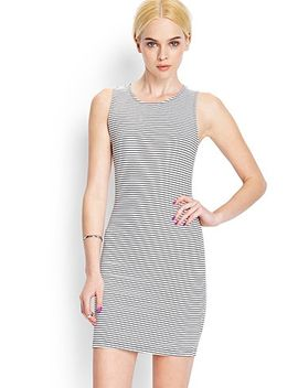 textured-stripe-bodycon-dress by forever-21