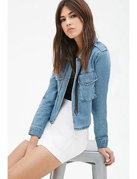 cropped-back-denim-jacket by forever-21