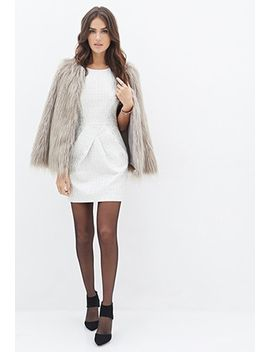 metallic-brocade-sheath-dress by forever-21