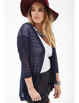 open-knit-dolman-cardigan by forever-21