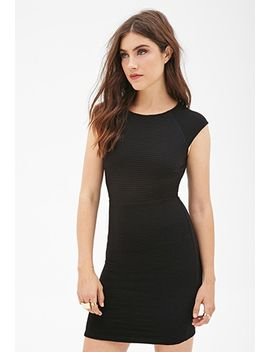 ribbed-bodycon-dress by forever-21