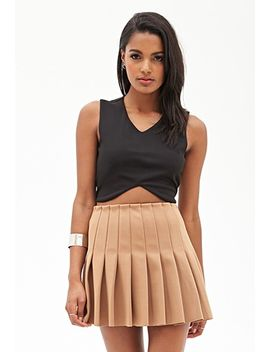 pleated-skater-skirt by forever-21