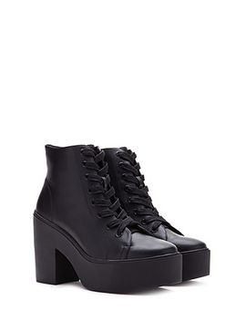 lace-up-platform-booties by forever-21