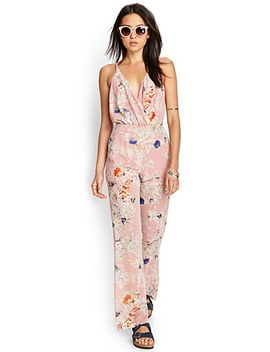 retro-floral-jumpsuit by forever-21