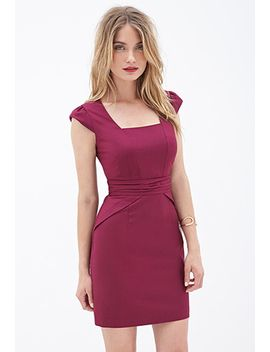 contemporary-classic-sheath-dress by forever-21