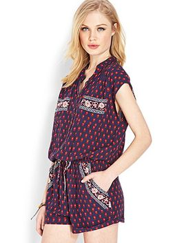 on-the-range-spotted-romper by forever-21