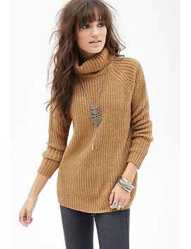 ribbed-turtleneck-sweater by forever-21