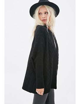 oversized-cable-knit-cardigan by forever-21