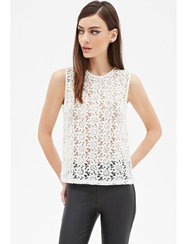 embellished-crochet-lace-top by forever-21
