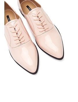 faux-patent-leather-oxfords by forever-21