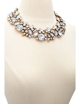 rhinestone-statement-necklace by forever-21