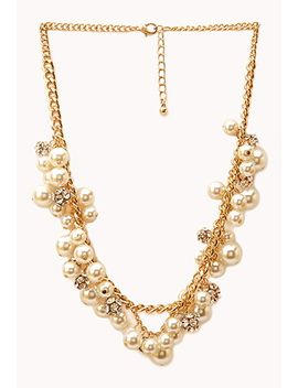 luxe-lover-faux-pearl-necklace by forever-21