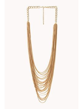 posh-layered-chain-necklace by forever-21