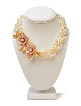 opulent-braided-faux-pearl-choker by forever-21