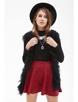 rose-pattern-skater-skirt by forever-21