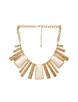 lacquered-fringe-necklace by forever-21