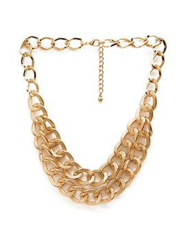 fresh-layered-chain-necklace by forever-21