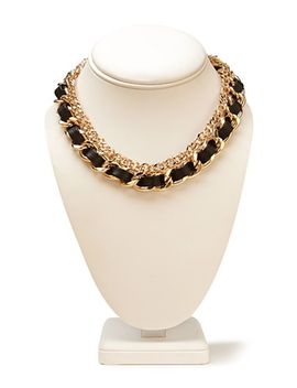 underground-woven-chain-choker by forever-21