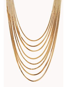 luxe-layered-chain-necklace by forever-21
