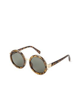 metal-rimmed-round-sunglasses by forever-21