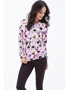 barbie-graphic-sweatshirt by forever-21