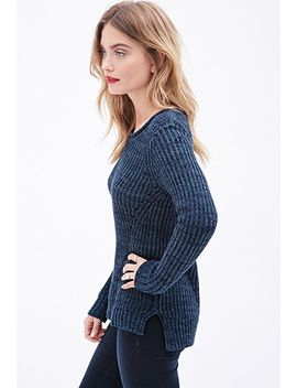 ribbed-cutout-sweater by forever-21