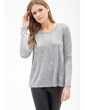 tulip-back-knit-blouse by forever-21