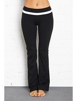 fit-&-flare-yoga-pants by forever-21