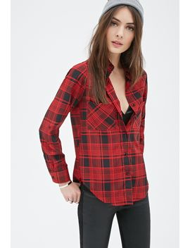 abstract-plaid-shirt by forever-21