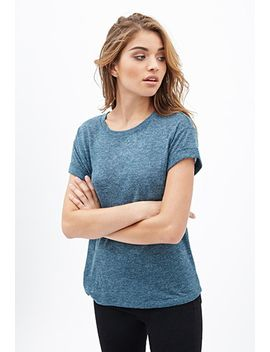 classic-textured-knit-tee by forever-21