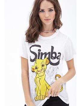 simba-burnout-tee by forever-21