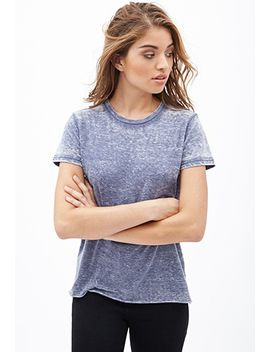 burnout-crew-neck-tee by forever-21