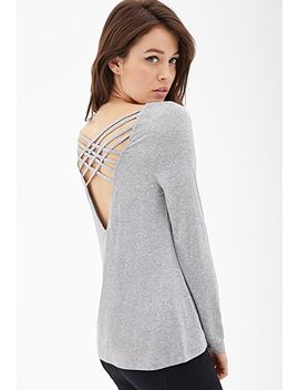 lattice-cutout-top by forever-21