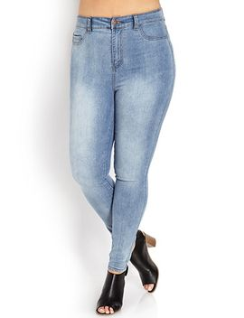 gone-chic-high-waisted-jeggings by forever-21