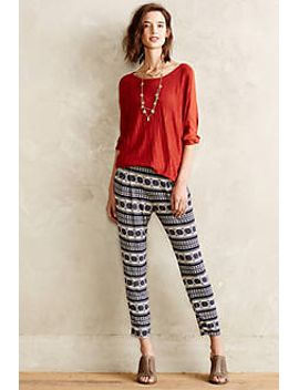 medallion-joggers by anthropologie