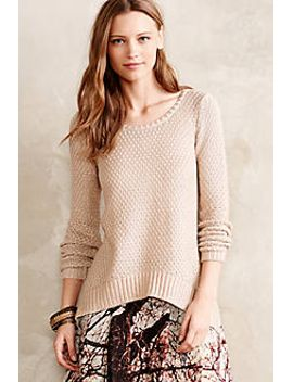 shimmer-stitch-pullover by moth