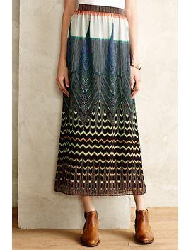 pluma-maxi-skirt by anthropologie