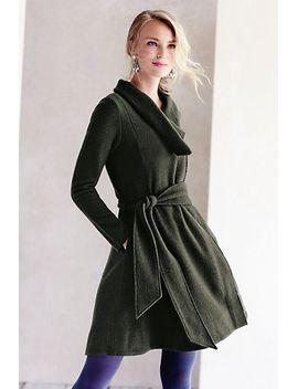 shawled-wool-sweatercoat by sparrow