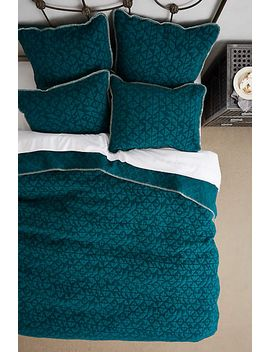 geo-chenille-coverlet by anthropologie