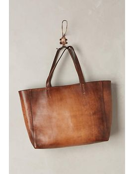 burnished-leather-tote by alchimia