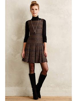 shimmered-tweed-dress by nanette-lepore
