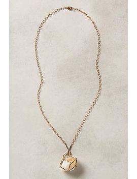 caged-quartz-pendant by anthropologie