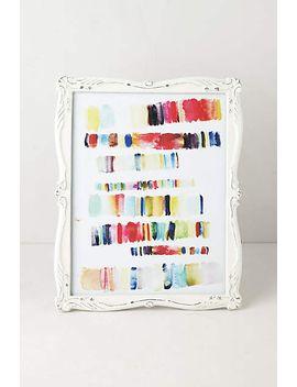 scalloped-enamel-frame by anthropologie