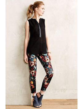 floral-neoprene-crops by anthropologie