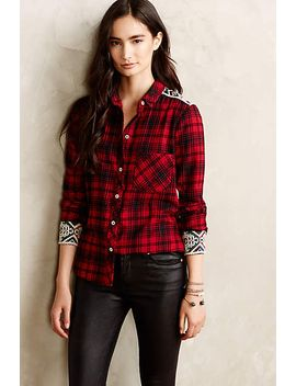 patched-plaid-buttondown by holding-horses