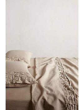 aurora-linen-sheet-set by anthropologie