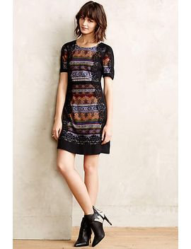 lace-frame-tunic-dress by anthropologie