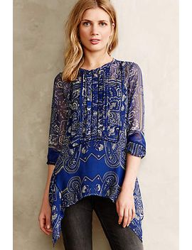 river-paisley-tunic by anthropologie
