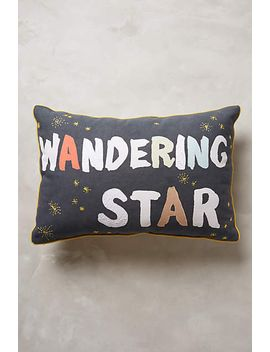 wandering-star-pillow by anthropologie
