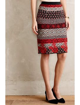 calea-tapestry-pencil-skirt by anthropologie
